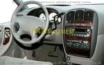 Накладки на торпеду Dodge/Додж Caravan 2001-2004 Overhead с Message Center