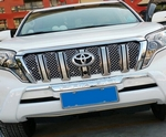OEM-Tuning Вставки в решётку радиатора, 6 частей, нерж. cталь TOYOTA Land Cruiser J150 13-