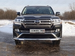 ТСС Решетка радиатора 12 мм (LC200 Executive) TOYOTA Land Cruiser J200 15-