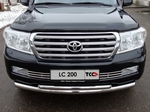 ТСС Решётка радиатора 16 мм TOYOTA Land Cruiser J200 07-